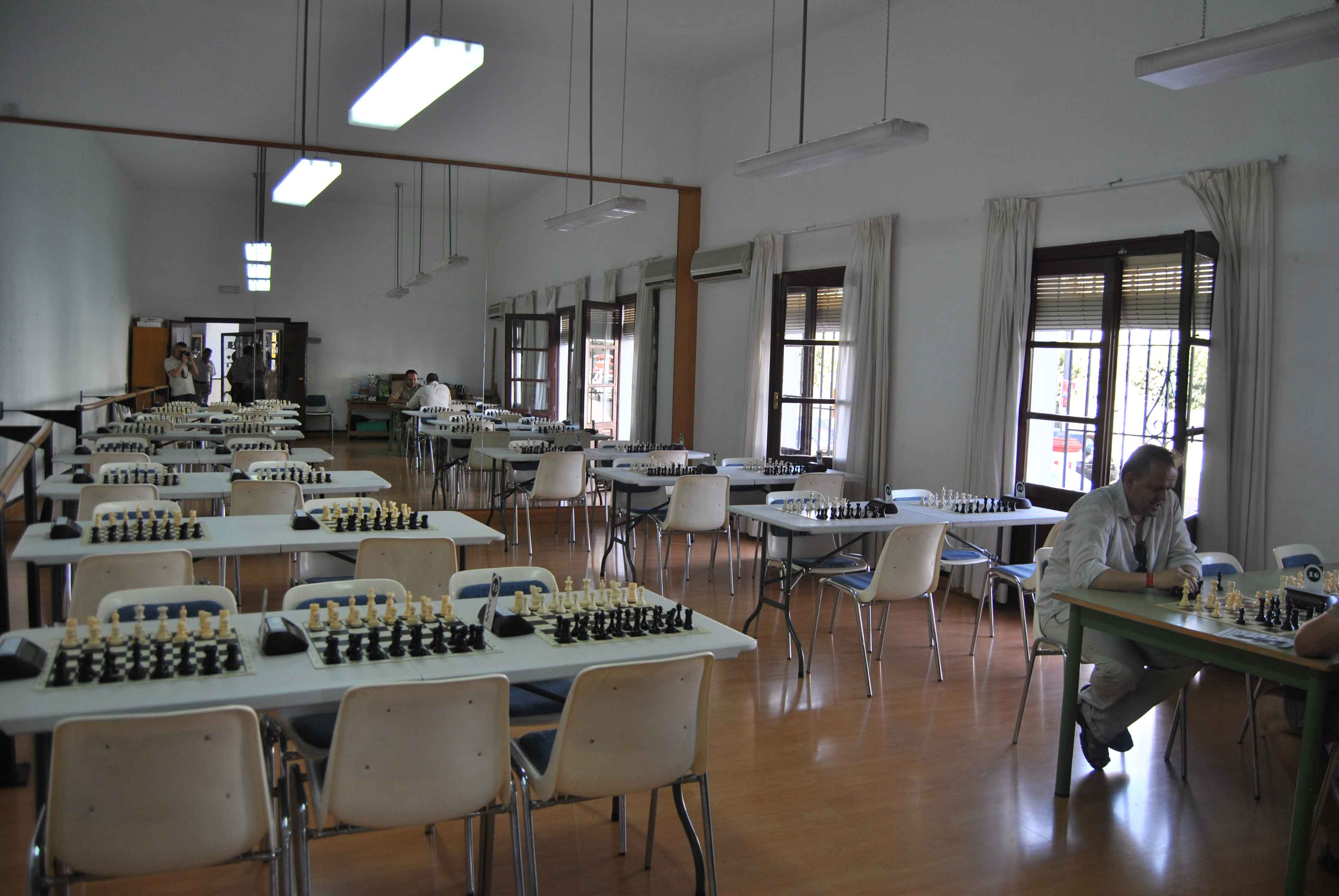 La sala, antes del comienzo